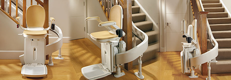 Brooks 180 curved stairlift