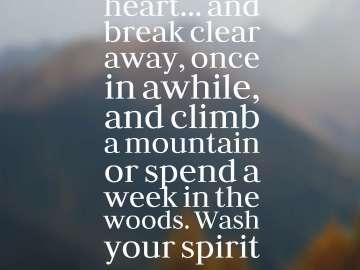 Mountain Quotes