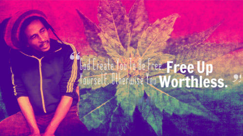 Bob Marley Quotes about Love, Music, Weed