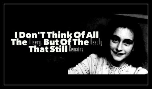 Inspiring Anne Frank Quotes – The Diary of a Young Girl