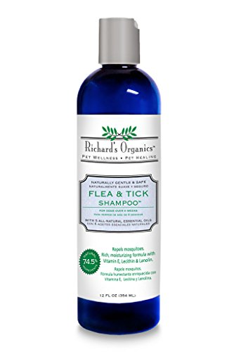 SynergyLabs Richard's Organics Flea & Tick Shampoo review
