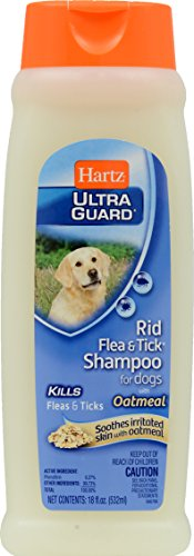 Hartz UltraGuard Rid Flea Shampoo for Dogs with Oatmeal review