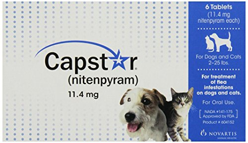 Novartis Capstar flea tablets review