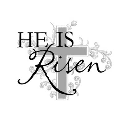 he is risen clip art central schwenkfelder church rh centralschwenkfelder com he is risen clipart black and white he is risen clip art images