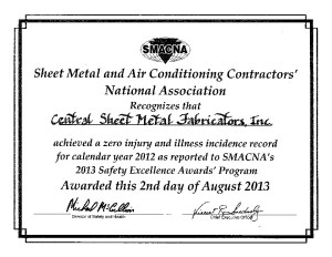 SMACNA Award 2013