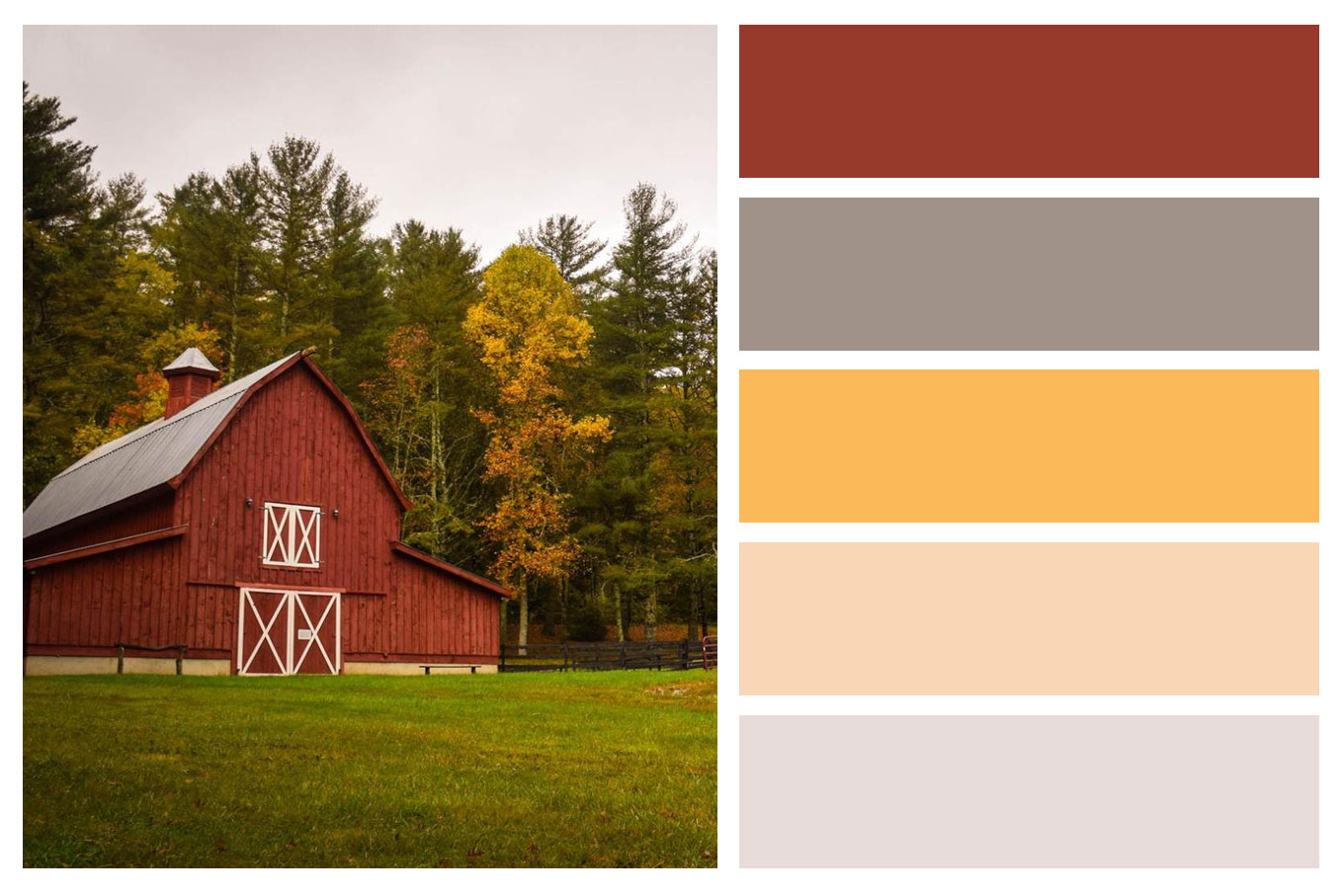 Fall Color Palettes For Interior Home Painting