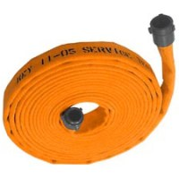 Double jacket fire hose 2-1/2 inch x 50 feet coupled with ...