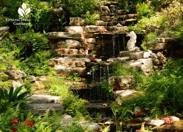 dry creek & ravine waterfall design