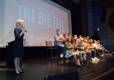 The Big Tell film awardssponsored by the Central Valley Community Foundation.
