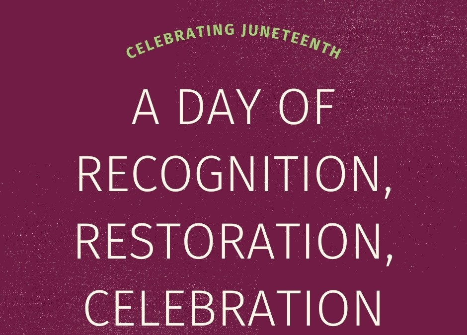 Juneteenth is a Unifying Holiday