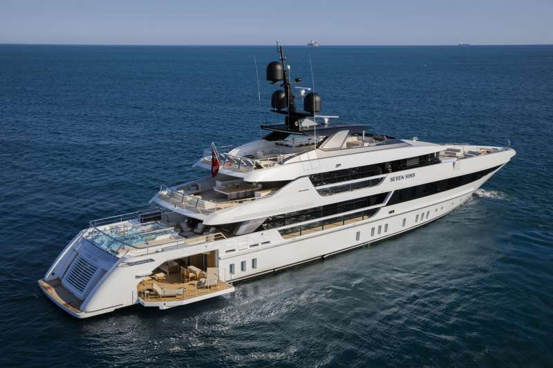 Main image of SEVEN SINS II yacht