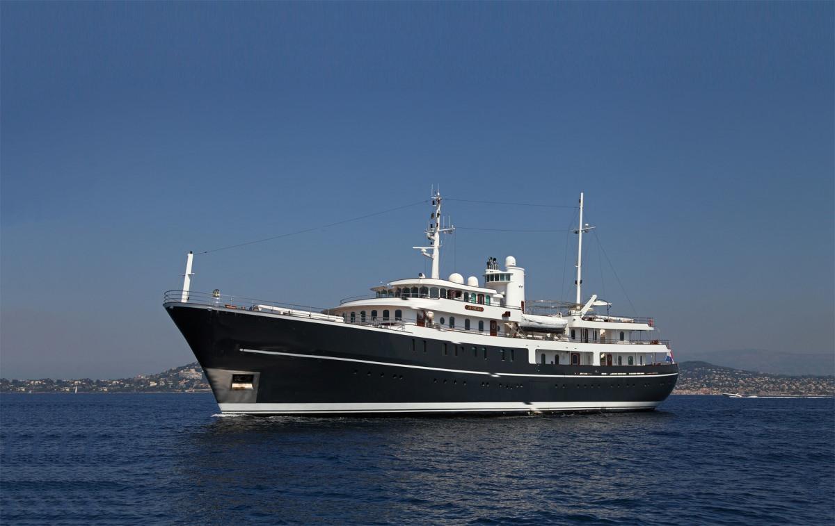 Greece Power Yachts Over 150 Feet