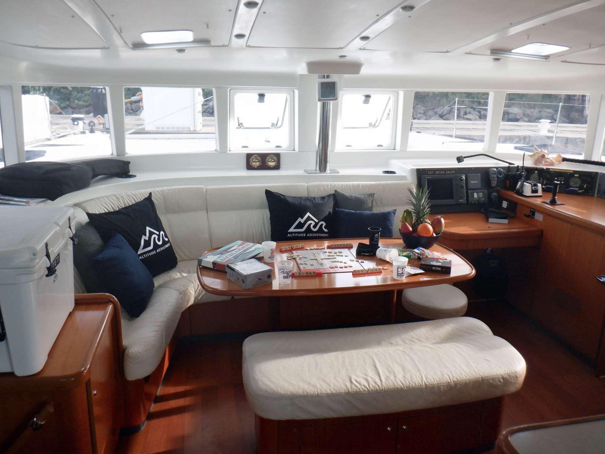 ALTITUDE ADJUSTMENT yacht image # 7
