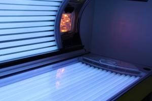 Cabine de bronzage à UV