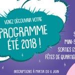 programme été 2018 centre social et culturel lazare garreau lille