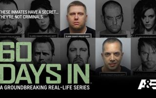 60 Days In promotional image of 10 inmates