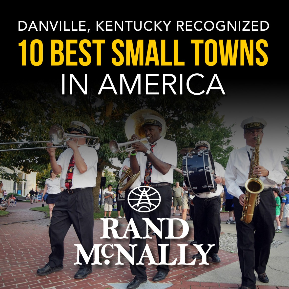 (infographic) Danville named 10 best small towns in America