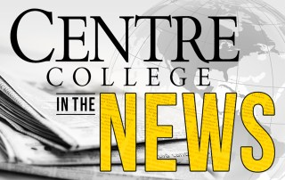 Centre College in the News logo