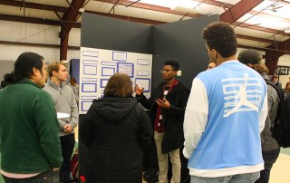 Students share internship experiences in Centre's Chowan