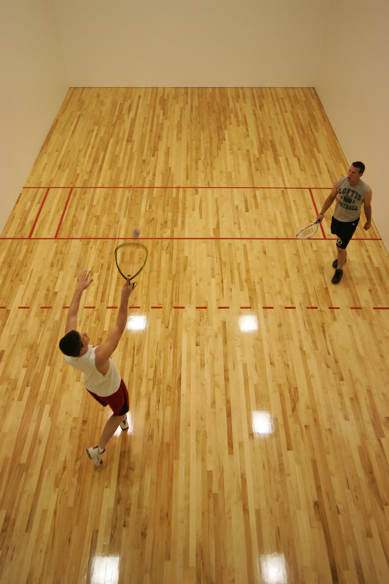 Racquetball at Sutcliffe Hall