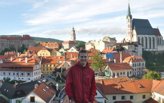Wesley Murray '19 in Strasbourg, France