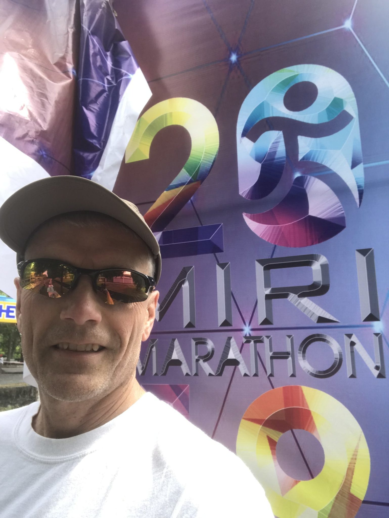 David Anderson at the Miri Marathon in Malaysia