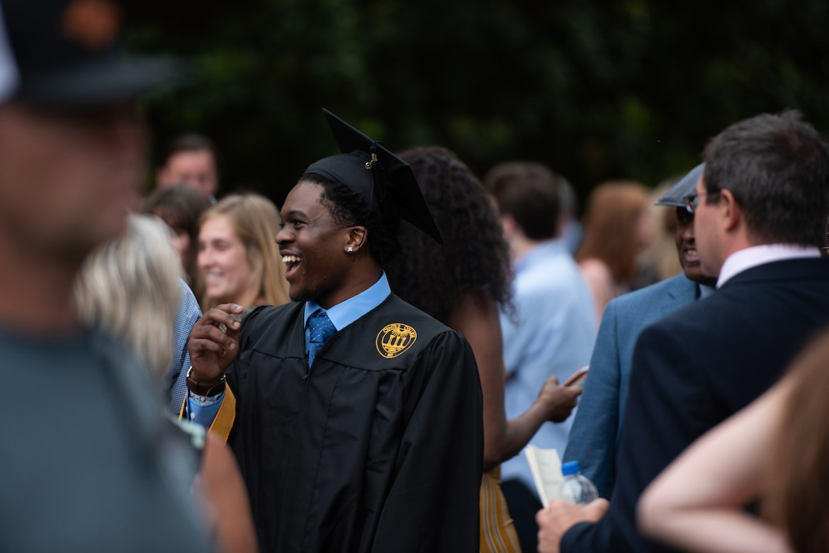 Graduates gathered for 2019 Commencement activities