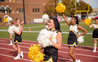 Competitive varsity cheer and stunt program being added at Centre College