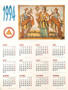 1994 Calendari