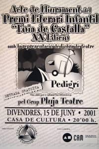 1 Teatre Premi Literari Infantil Castalla