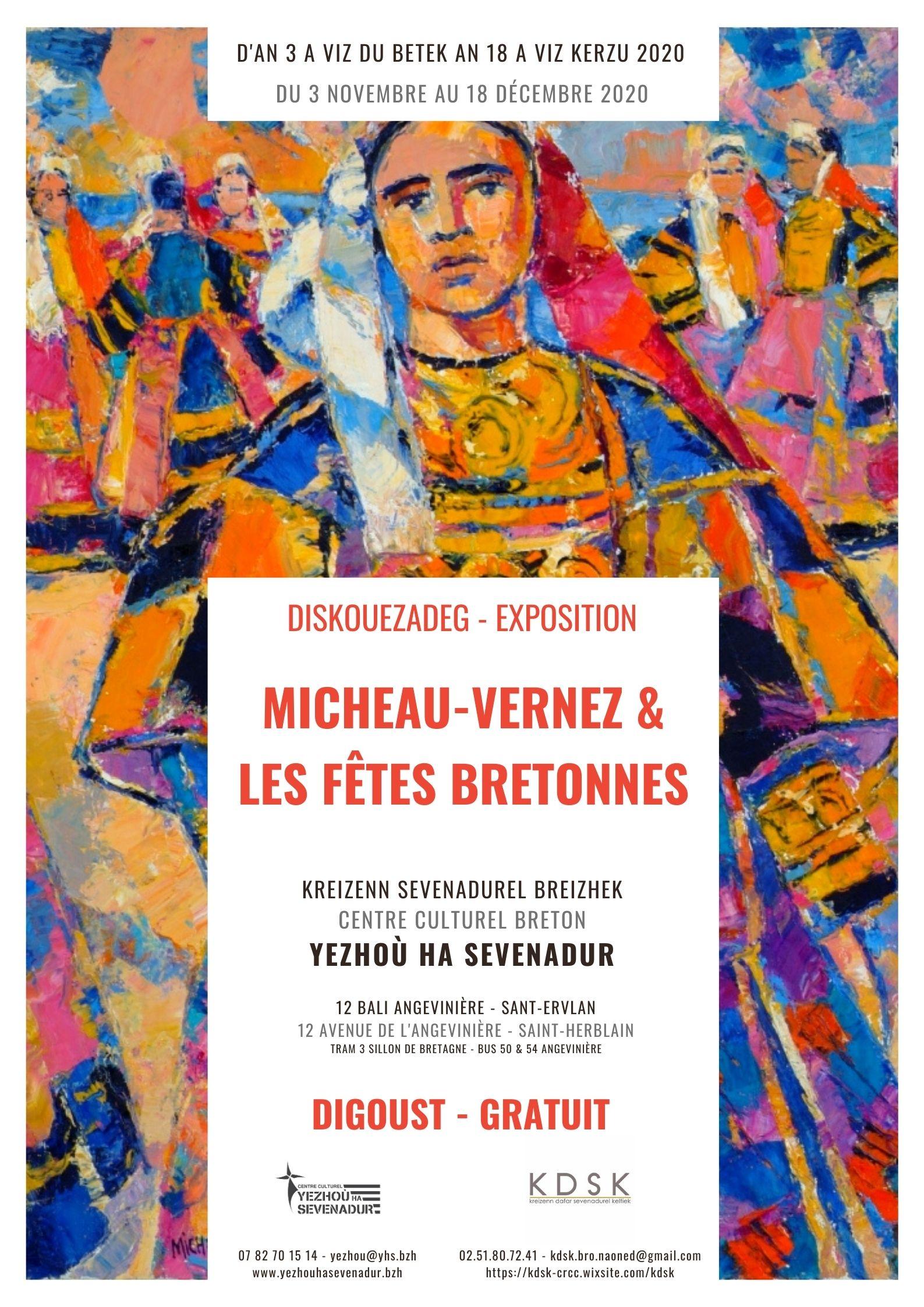 Micheau-Vernez et les fêtes bretonnes