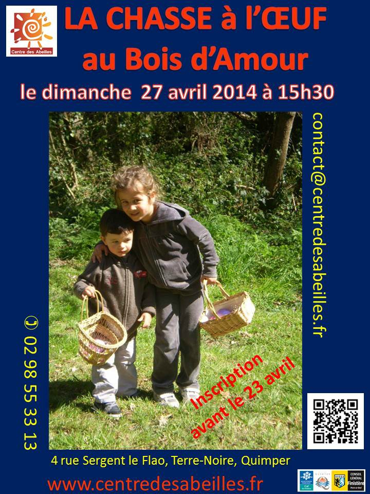 affiche chasse oeuf 2014