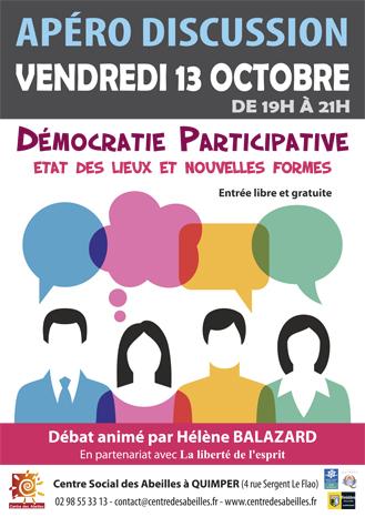 Démocratie participative, état des lieux et nouvelles formes