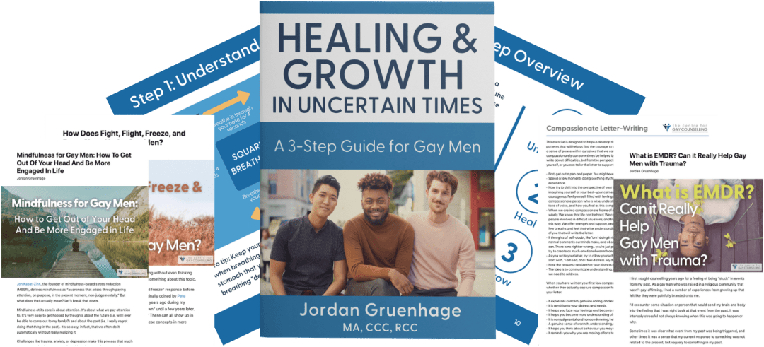 free mental health counselling therapy resources for gay men
