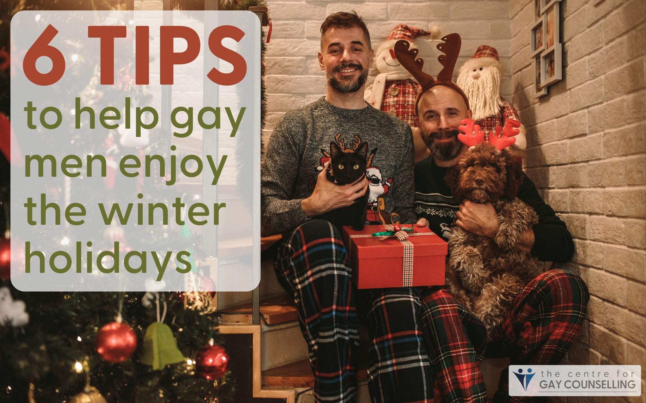gay men counselling therapy mental health Canada winter holidays Christmas