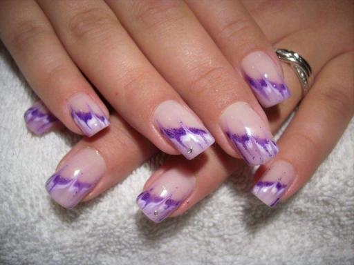 photo d ongle decore nail art