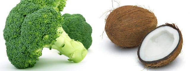 Brocoli, Noix de coco | Crédit : 27avril.com