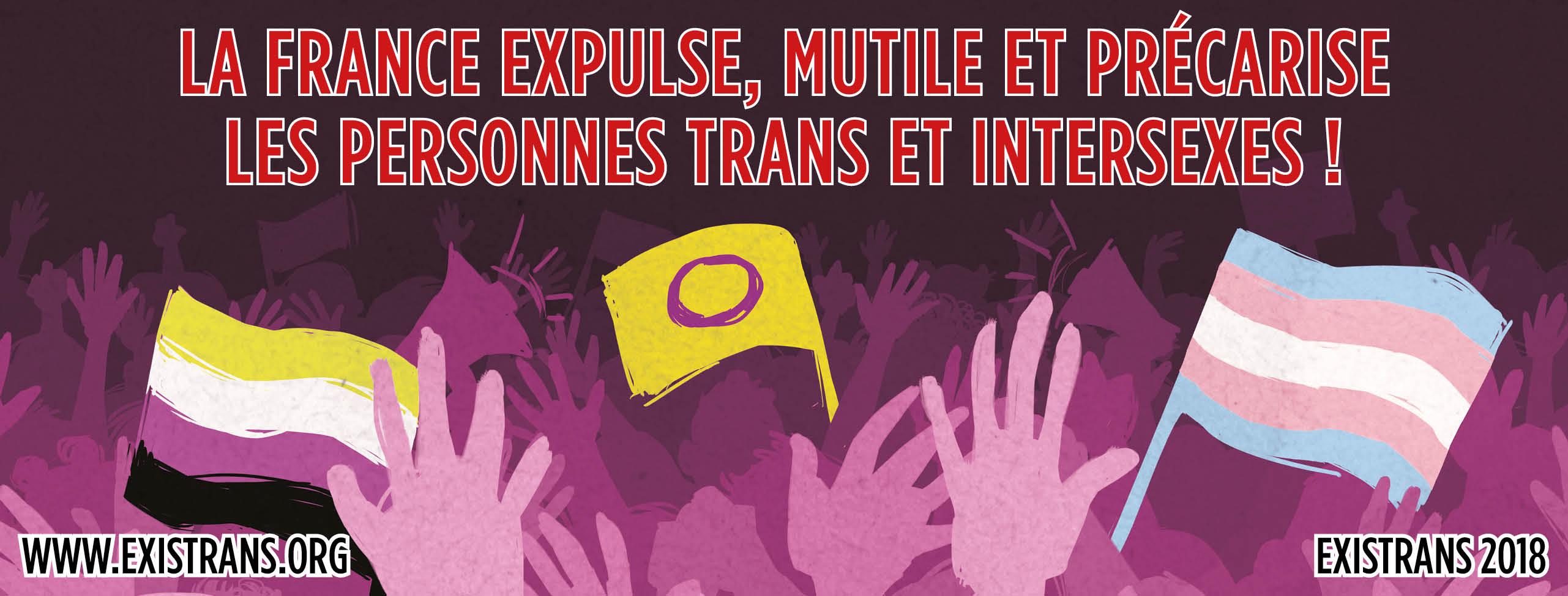 Discours d'AEDELPHES, 1ere association de personnes transgenres non binaires à l'Existrans 2018 !