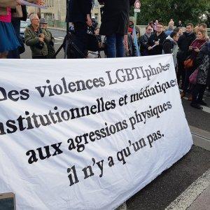 Agression de Romain, le climat de haine LGBTIphobe doit cesser !