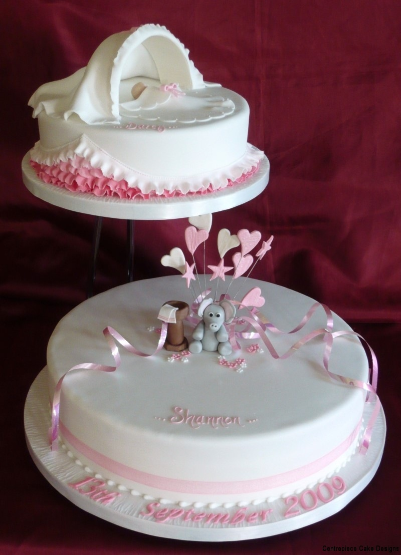Christening Cakes  From 6000  Centrepiece Cake Designs Isle of Wight