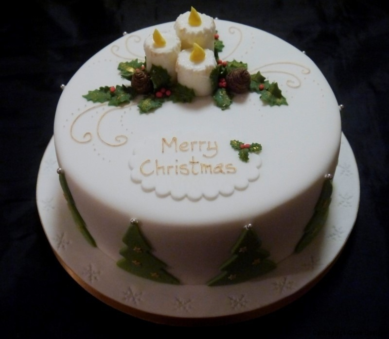 Christmas Cakes  From 5500  Centrepiece Cake Designs Isle of Wight