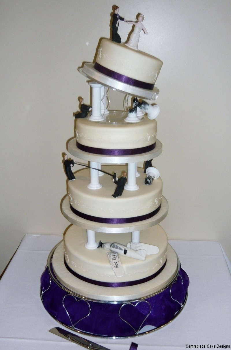 Funky Theme Wedding Cakes Madeon the Isle of Wight
