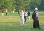 méditation en marchant