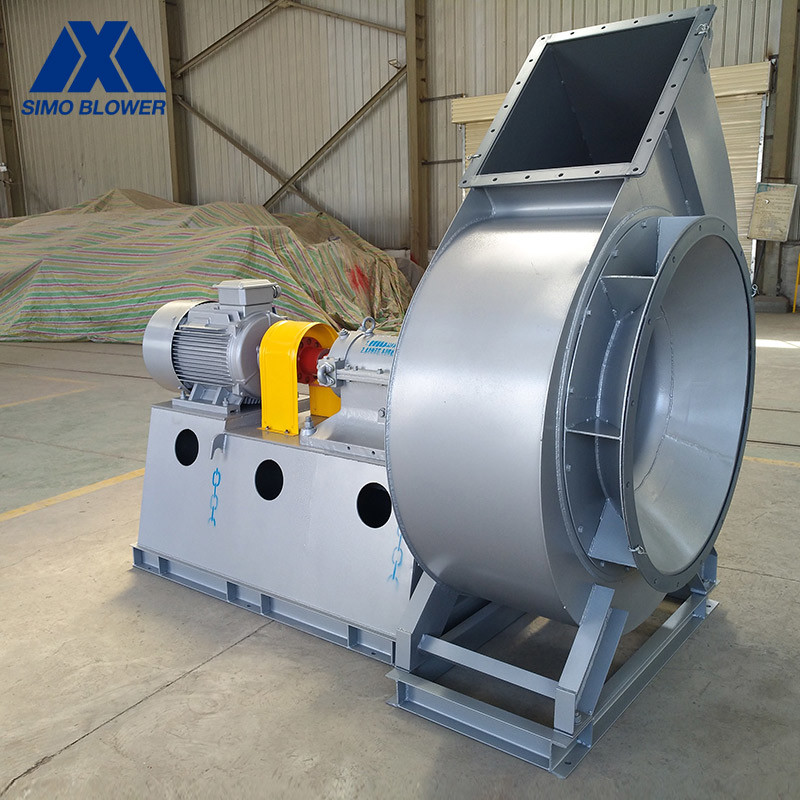 large scale flue gas forced draft ac centrifugal exhaust fan