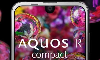 Sharp Aquos Compact R Apple iPhone X display design