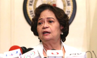 Chief Justice De Castro, 6 associate justices impeachment complaints found 'sufficient in form'