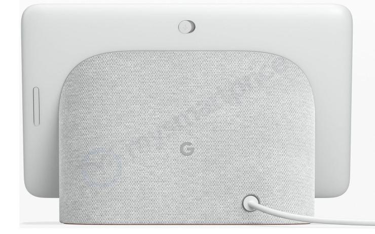 Google Home Hub Smart Display Speaker (back)