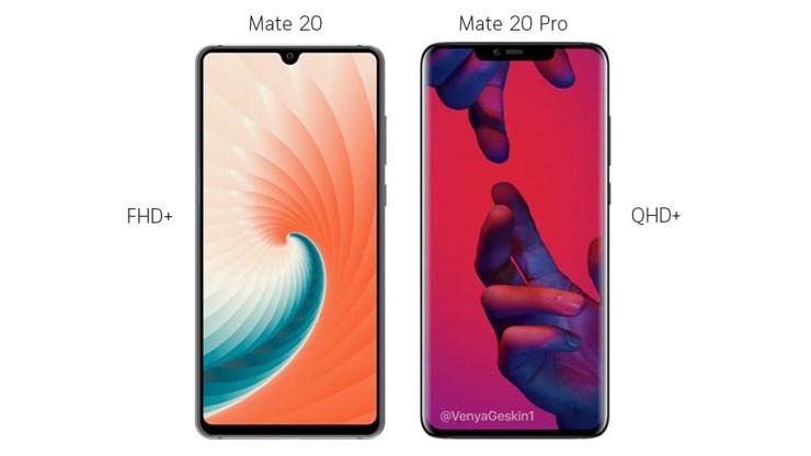 Huawei Mate 20 series 2018