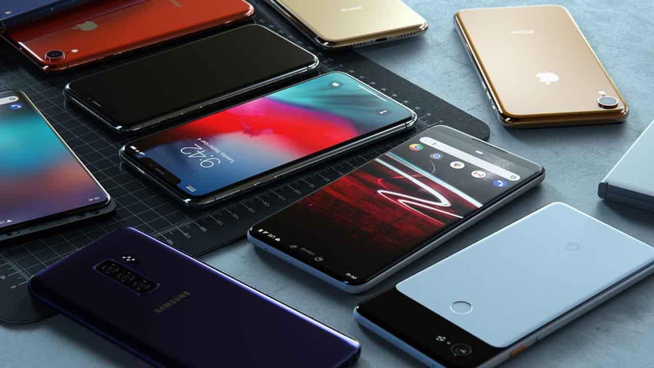 Google Pixel 3 XL vs  Mi Mix 3 vs  LG V40 ThinQ vs  iPhone