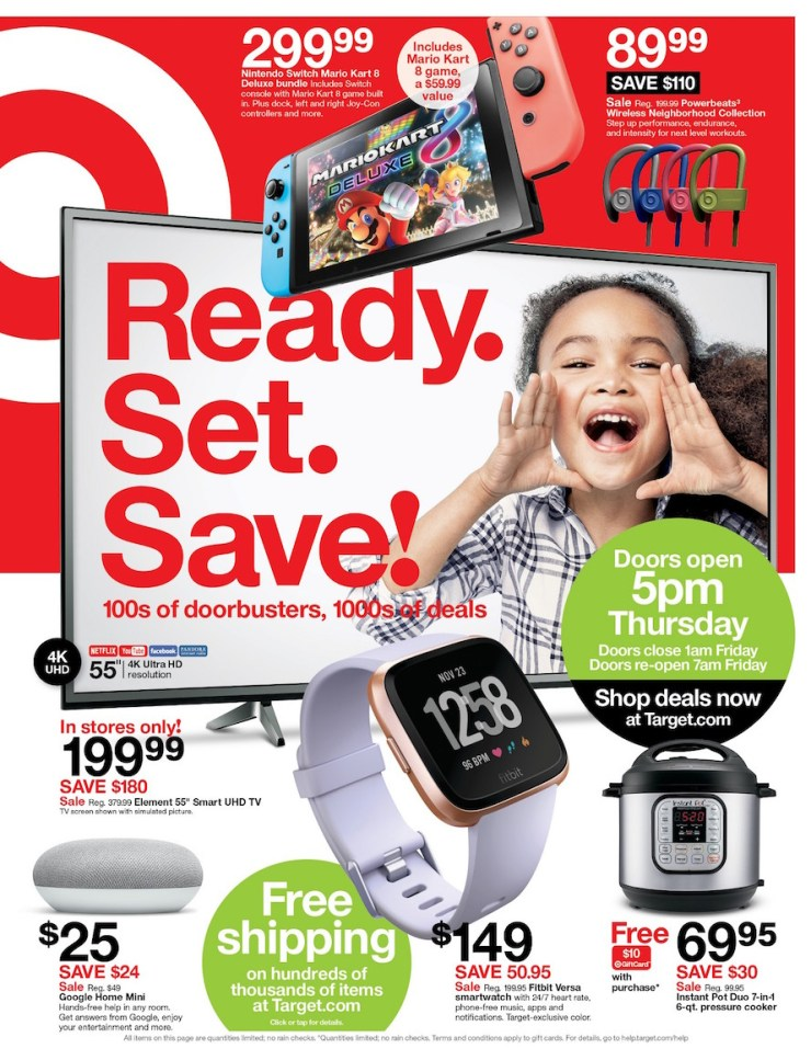 Walmart vs Target Black Friday 2018 Ad 234552df